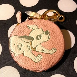 Coach Disney Dalmatian Round Coin Purse
